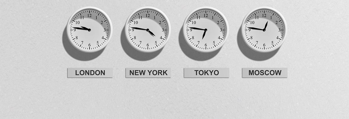 Hvad Er Klokken I De Forskellige Tidszoner Europaeiske Erv